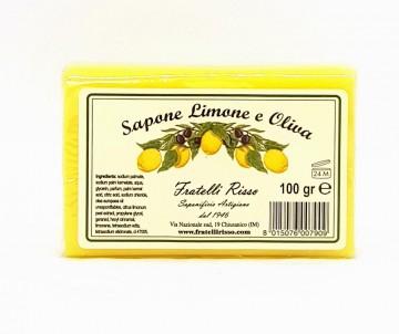 Saponetta all'Olio di Oliva e Limone 100g - Fratelli Risso